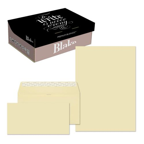 Blake Premium Business Vellum Wove Peel & Seal SoHo Box 210x297mm 120gsm Pack 250 Code 51670