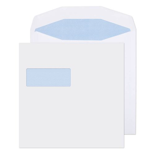 Purely Everyday Wallet Self Seal High Window White 100gsm 220x220 Ref 5702 Pk 250 *10 Day Leadtime*