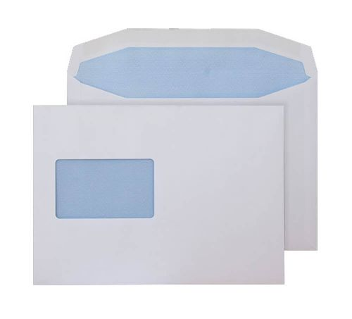 Blake Purely Everyday White Window Gummed Mailer 162x235mm 90gsm Pack 500 Code 5802CBC