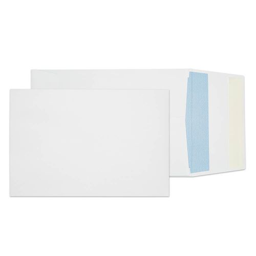 Blake Purely Everyday Pocket Gusset Envelope C5 Peel and Seal Plain 25mm Gusset 120gsm White (Pack 125)