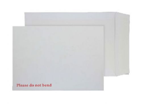 Purely Packaging Envelope Board Backed P&S 241x178mm White Ref 6112 [Pack 125] *10 Day Leadtime*