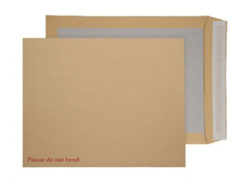 Blake Purely Packaging Manilla Peel & Seal Board Back Pocket 444X368mm 120Gm2 Pack 50 Code 6200 3P