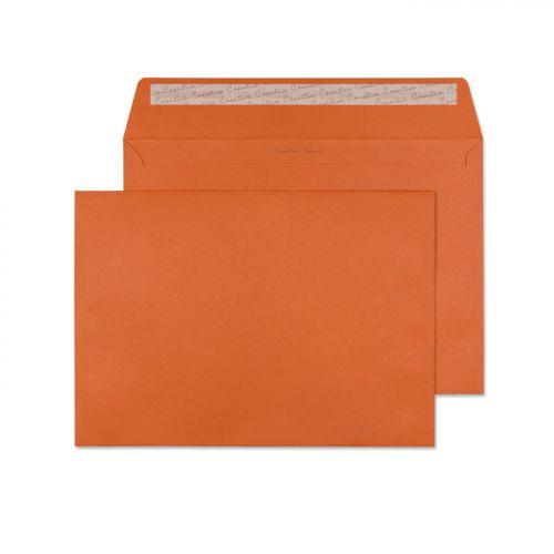 Blake Creative Colour Marmalade Orange Peel & Seal  Wallet 229X324mm 120Gm2 Pack 10 Code 63428 3P