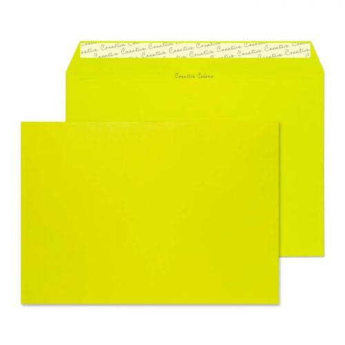 Blake Creative Colour Acid Green Peel & Seal Walle t 229X324mm 120Gm2 Pack 10 Code 63441 3P