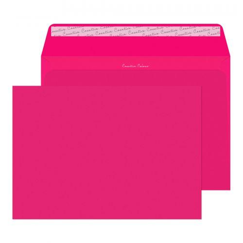 Blake Creative Colour Shocking Pink Peel & Seal Wa llet 229X324mm 120Gm2 Pack 10 Code 63442 3P