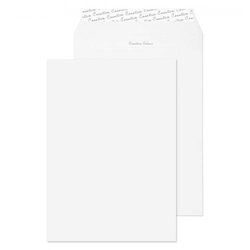 Blake Creative Colour Ice White Peel & Seal Pocket  324X229mm 120Gm2 Pack 10 Code 63950 3P