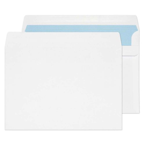 Blake Purely Everyday White Self Seal Wallet 162X2 29mm 100Gm2 Pack 500 Code 6644Fu 3P