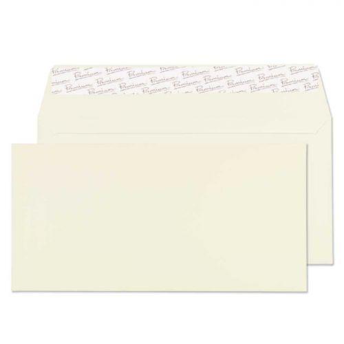 Blake Premium Business Oyster Wove Peel & Seal Wallet 110X220mm 120Gm2 Pack 50 Code 71255 3P