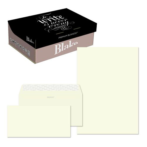 Blake Premium Business Oyster Wove Peel & Seal SoHo Box 210x297mm 120gsm Pack 250 Code 71670