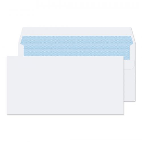 Blake Purely Everyday Wallet Envelope DL Self Seal Plain 100gsm White (Pack 500)