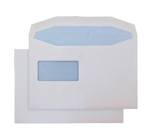 Blake Purely Everyday White Window Gummed Mailer 1 62X229mm 100Gm2 Pack 500 Code 8077Rev 3P