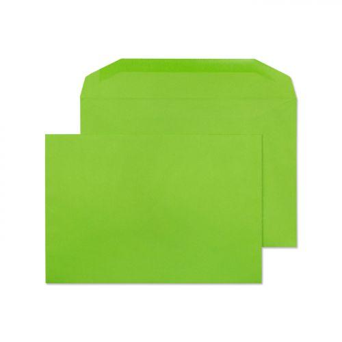 Blake Creative Colour Lime Green Gummed Mailer 162 X235mm 120Gm2 Pack 500 Code 807M 3P