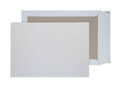 Blake Purely Packaging White Peel & Seal Board Back Pocket 352X250mm 120Gm2 Pack 125 Code 8111 3P