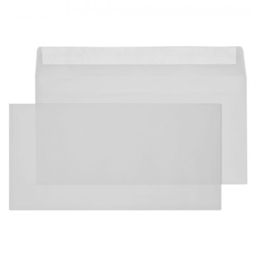 Blake Creative Senses Translucent White Peel & Sea l Wallet 110X220mm 90Gm2 Pack 500 Code 815 3P