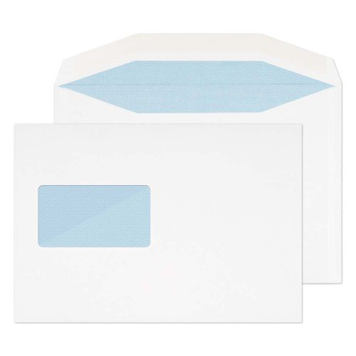 Blake Purely Everyday White Window Gummed Wallet 162x235mm 110gsm Pack 500 Code 8402CBC