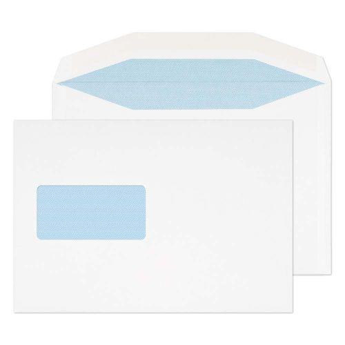 Blake Purely Everyday White Window Gummed Mailer 162x235mm 110gsm Pack 500 Code 8408