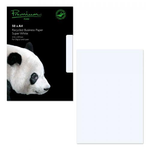Blake Premium Pure Paper A4 120gsm Super White Wove (Pack 50)