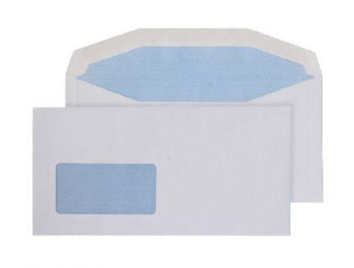 Blake Purely Everyday White Window Gummed Mailer 1 14X229mm 110Gm2 Pack 1000 Code 8704 3P