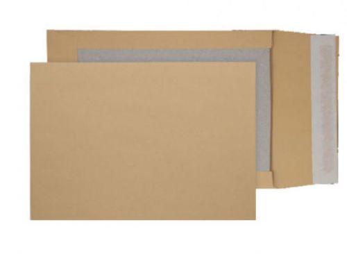 Blake Purely Packaging Manilla Peel & Seal Board B ack Gusset 324X229X50mm 120G Pk125 Code 93935M 3P