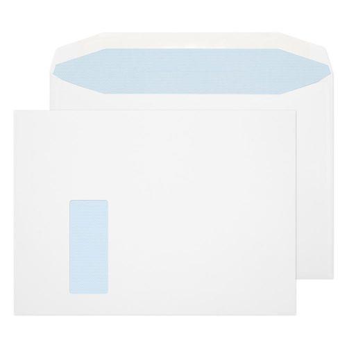 Blake Purely Everyday White Window Gummed Mailer 240x330mm 100gsm Pack 250 Code 9710