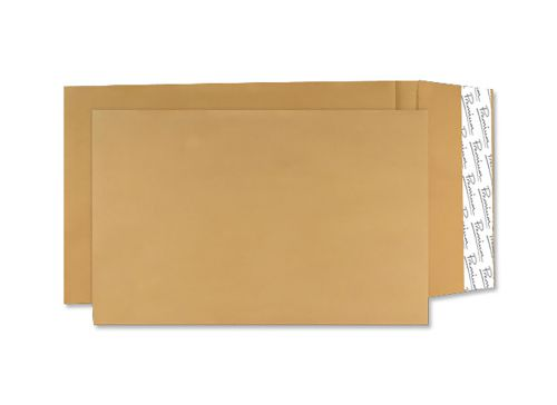 Blake Premium Avant Garde Pocket Gusset Envelope C4 Peel and Seal Plain 25mm Gusset 140gsm Cream Manilla (Pack 100)