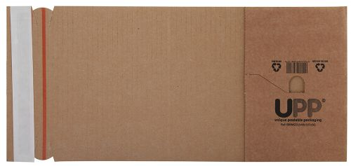 Blake Purely Packaging Manilla Peel And Seal Book Wrap 145X127X50mm Pack 25 Code Bwmcd 3P