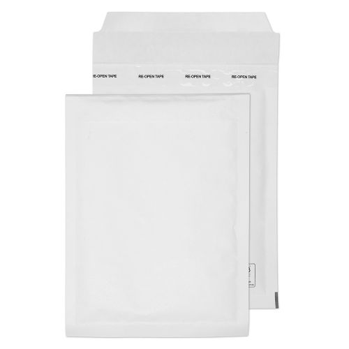 Blake Purely Packaging Padded Bubble Pocket Envelope 220x150mm Peel and Seal 90gsm White (Pack 100)