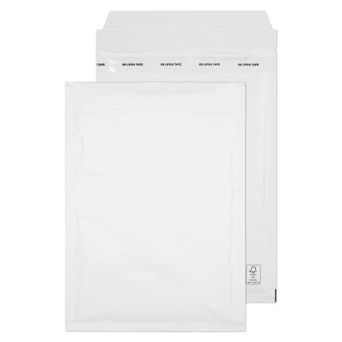 Blake Purely Packaging Padded Bubble Pocket Envelope C5 Plus 260x180mm Peel and Seal 90gsm White (Pack 100)