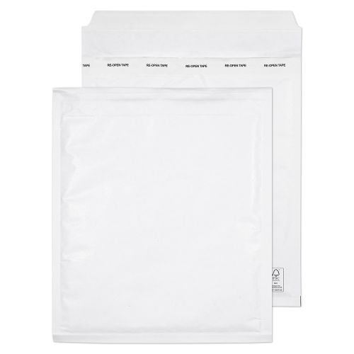 Blake Padded Bubble Pocket Peel & Seal White 260x220mm PK100