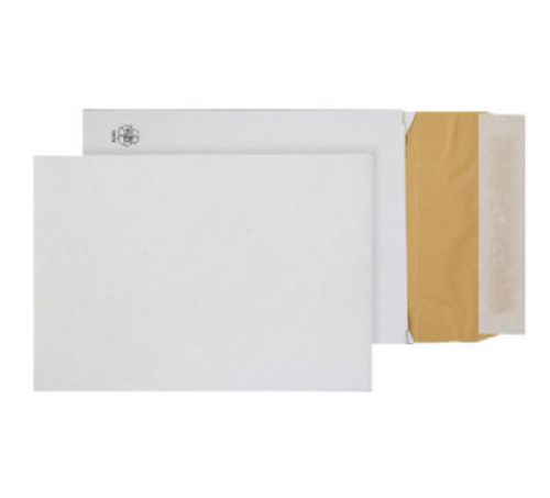 Blake Purely Packaging Padded Gusset Eco Cushion Envelope C5 Peel and Seal 50mm Gusset 140gsm White (Pack 100)