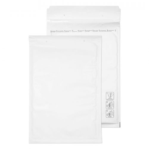 Blake Purely Packaging Padded Bubble Pocket Envelope C4 340x220mm Peel and Seal 90gsm White (Pack 100)