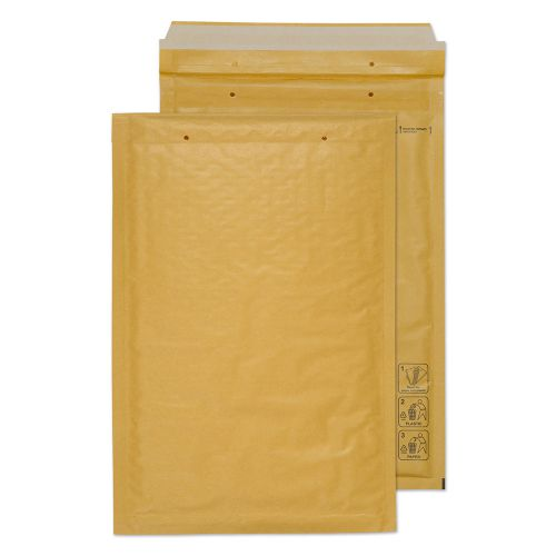 Blake Purely Packaging Padded Bubble Pocket P&S 340x220mm Gold Ref F/3GOLD [Pk100] *10 Day Leadtime*