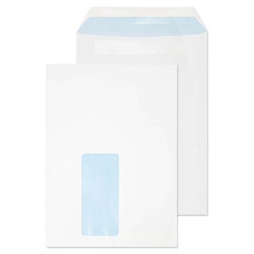 Blake Purely Everyday Pocket Envelope C5 Self Seal Window 90gsm White (Pack 500)
