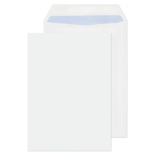 ValueX Pocket Envelope C5 Self Seal Plain 90gsm Ultra White (Pack 500)