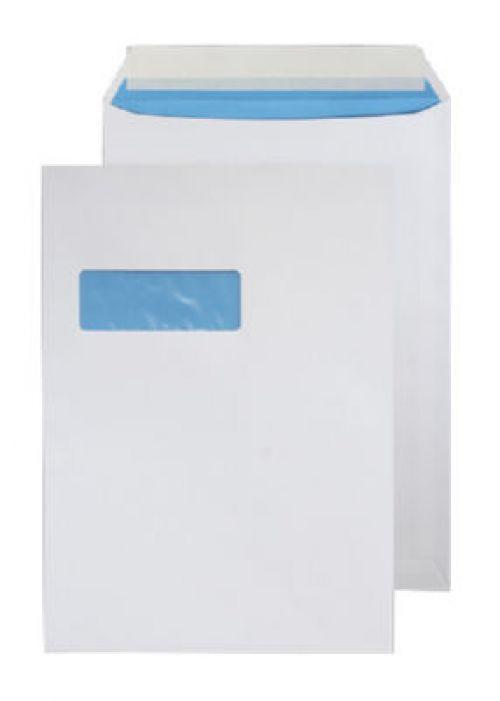 Blake Purely Environmental Envelopes Pocket Peel & Seal Window 110gsm C4 White Ref FSC068 [Pack 250]