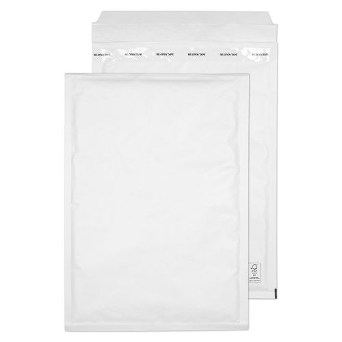 Blake Padded Bubble Pocket Peel & Seal White 340x230mm PK100