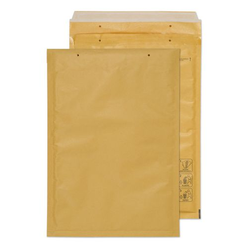 Blake Purely Packaging Padded Bubble Pocket P&S 340x230mm Gold Ref G/4GOLD [Pk100] *10 Day Leadtime*