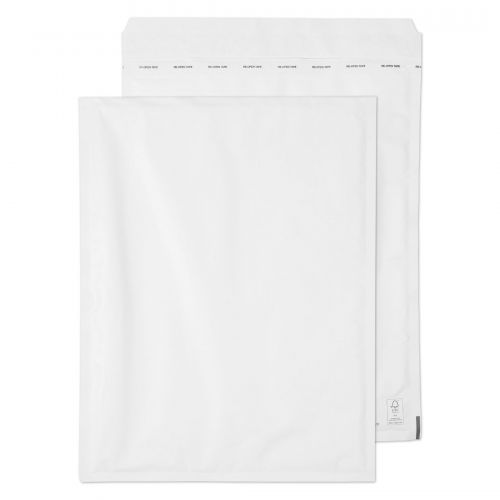 Blake Purely Packaging Padded Bubble Pocket Envelope 470x350mm Peel and Seal 90gsm White (Pack 50)