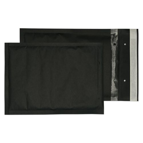 Purely Packaging Envelope P&S 260x180mm Bubble Envolite Black Ref KBP260 [Pk 100] *10 Day Leadtime*