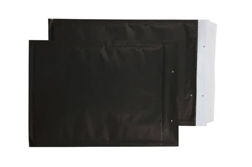 Purely Packaging Envelope P&S 340x230mm Bubble Envolite Black Ref KBP335 [Pk 100] *10 Day Leadtime*