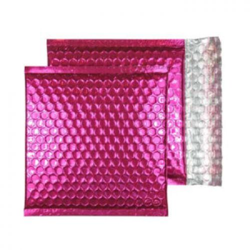 Purely Packaging Padded Envelope P&S CD Metallic Pink Ref MBP165 [Pk 200] *10 Day Leadtime*