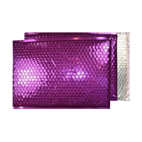 Purely Packaging Padded Envelope P&S C5+ Metallic Purple Ref MBPUR250 [Pk 100] *10 Day Leadtime*