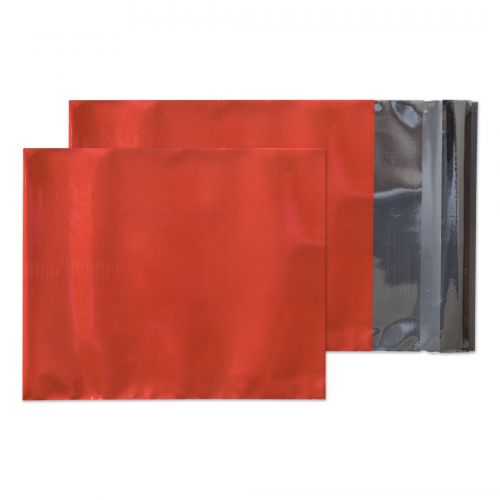 Purely Packaging Foil Pocket P&S 70 Mic 229x162mm Met Red Ref MF806 [Pack 250] *10 Day Leadtime*