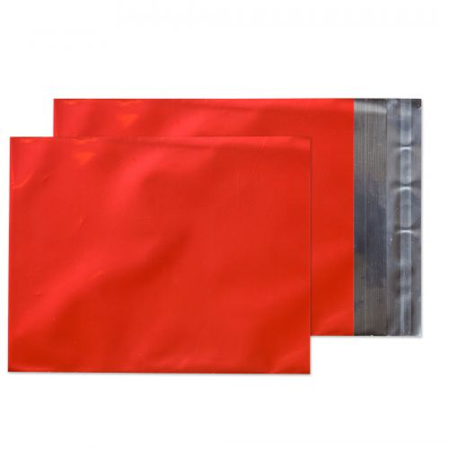 Purely Packaging Foil Pocket P&S 70 Mic 324x229mm Met Red Ref MF906 [Pack 250] *10 Day Leadtime*