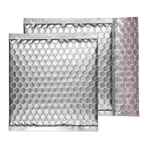 Blake Purely Packaging Metallic Silver P&S Padded Bubble Wallet 165X165 70Mu Pk100 Code Mta165 3P