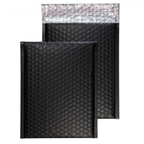 Purely Packaging Bubble Envelope P&S C5+ Matt Metallic Charcoal RefMTB450 [Pk100] *10 Day Leadtime*