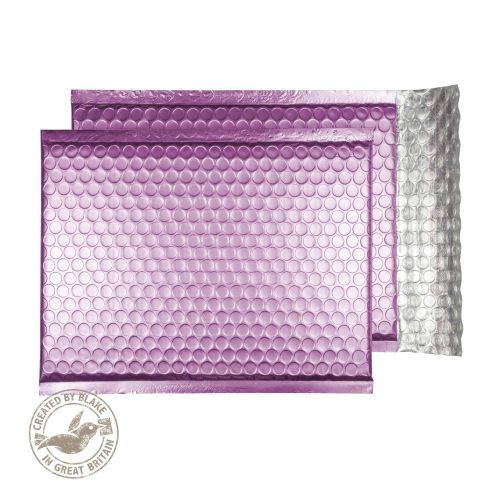 Purely Packaging Bubble Envelope P&S C5+ Metallic Pink Ref MTP250 [Pack 100] *10 Day Leadtime*