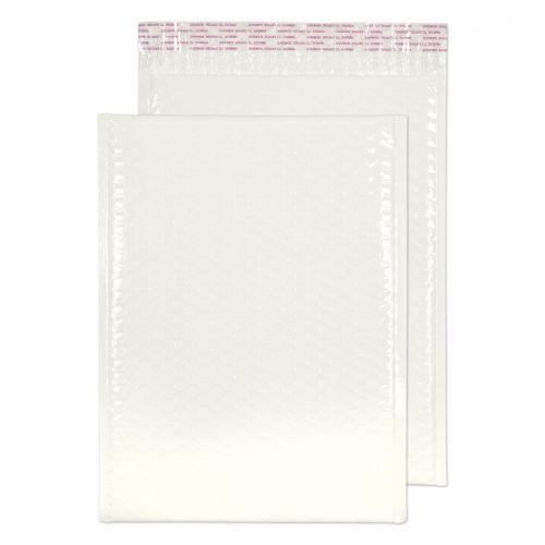 Blake Purely Packaging White Neon Gloss Peel & Seal Pocket 340X240mm 70Mu Pack 100 Code Ngw340 3P