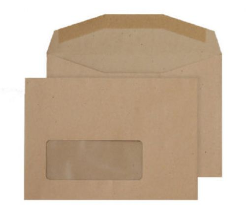Purely Everyday C6 80gsm Gummed Window Mailer Manila PK1000
