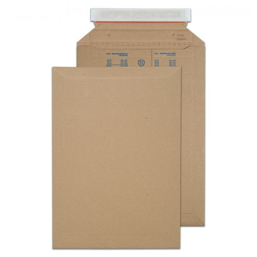 Blake Purely Packaging Corrugated Pocket P&S 353x250mm Kraft Ref PCE40 [Pk100] *10 Day Leadtime*